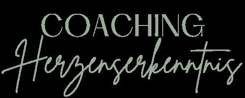 Logo von Herzenserkenntnis Coaching_ Text: Coaching Herzenserkenntnis